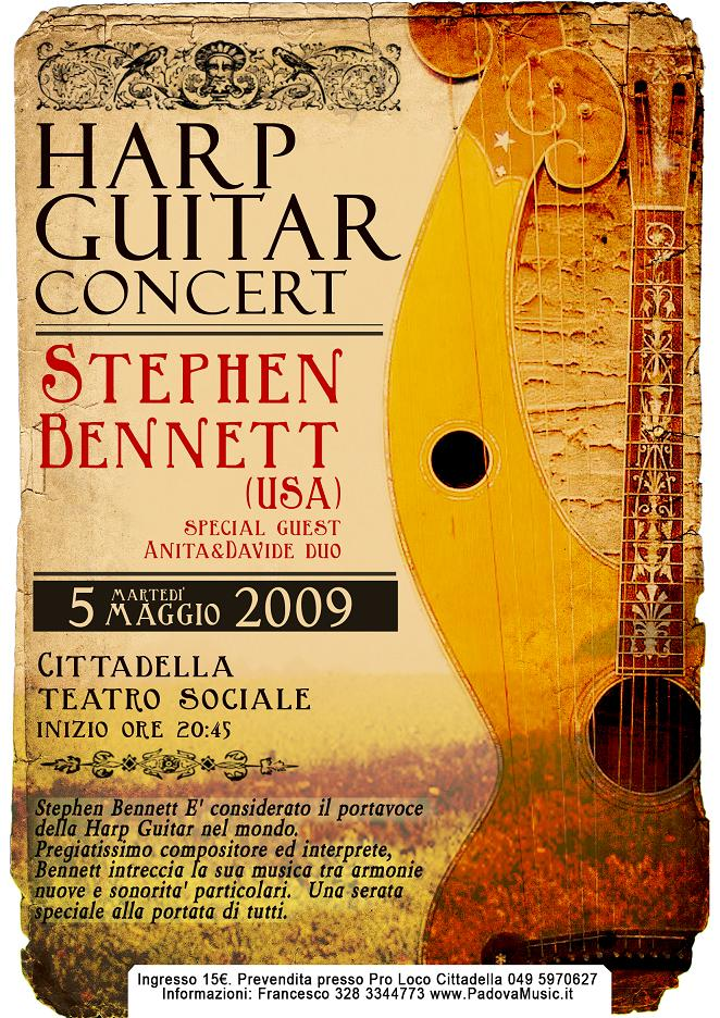 A poster from Italy - May 2009